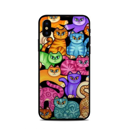 Colorful Kittens iPhone X Skin