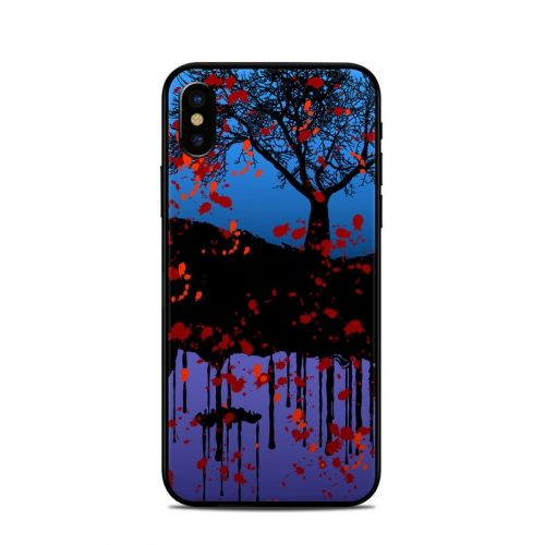 Cold Winter iPhone X Skin