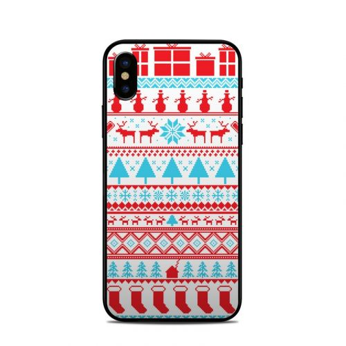 Comfy Christmas iPhone X Skin