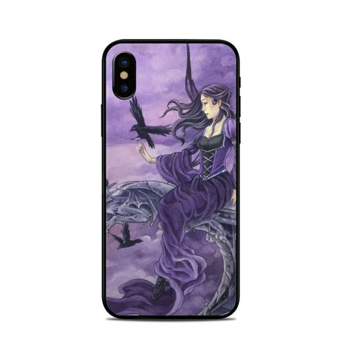 Dark Wings iPhone X Skin