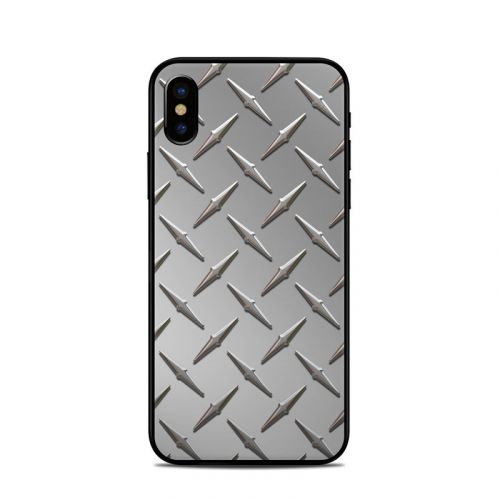 Diamond Plate iPhone X Skin