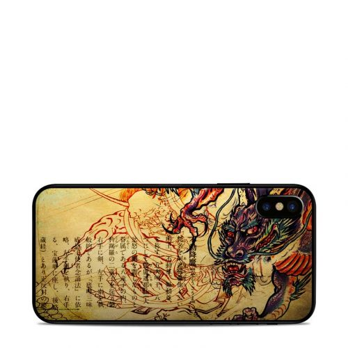 Dragon Legend iPhone X Skin