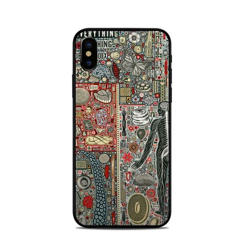 Everything and Nothing iPhone X Skin