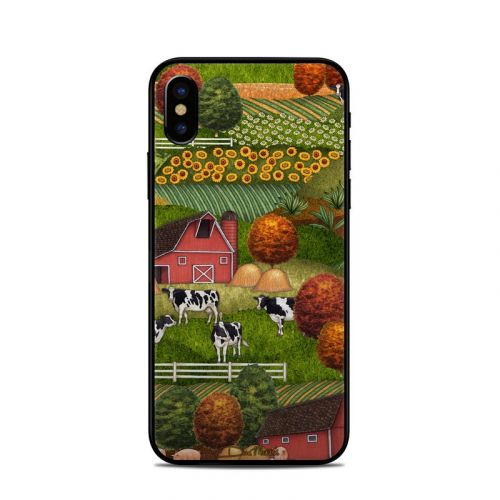Farm Scenic iPhone X Skin