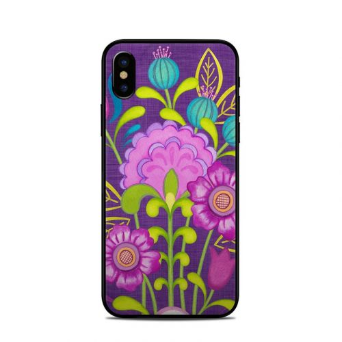 Floral Bouquet iPhone X Skin