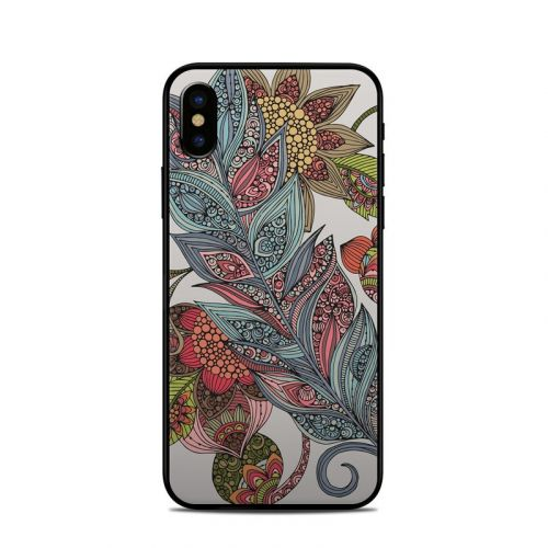 Feather Flower iPhone XS Skin
