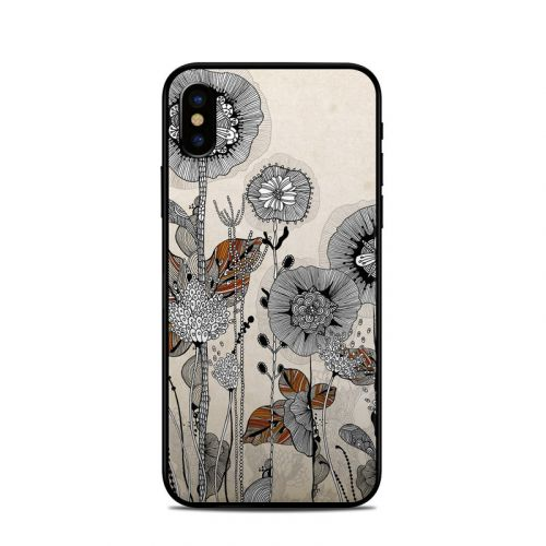 Four Flowers iPhone X Skin