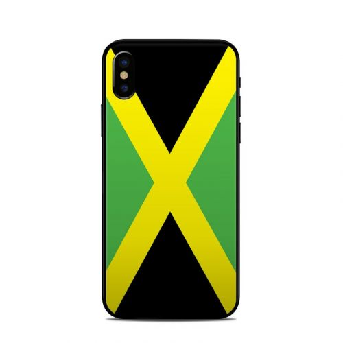 Jamaican Flag iPhone X Skin