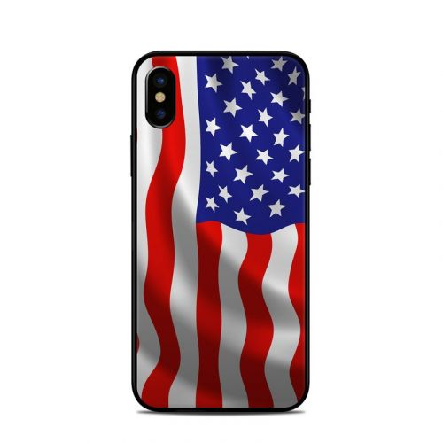 USA Flag iPhone X Skin