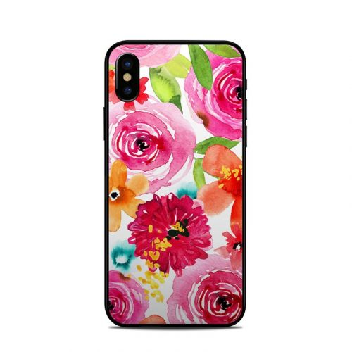 Floral Pop iPhone XS Skin