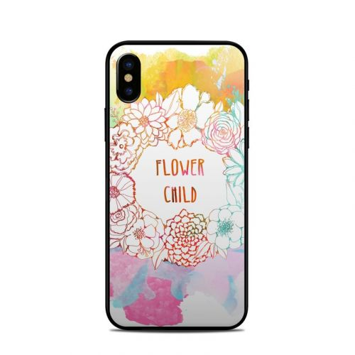 Flower Child iPhone X Skin