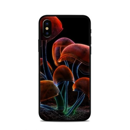 Fluorescence Rainbow iPhone XS Skin