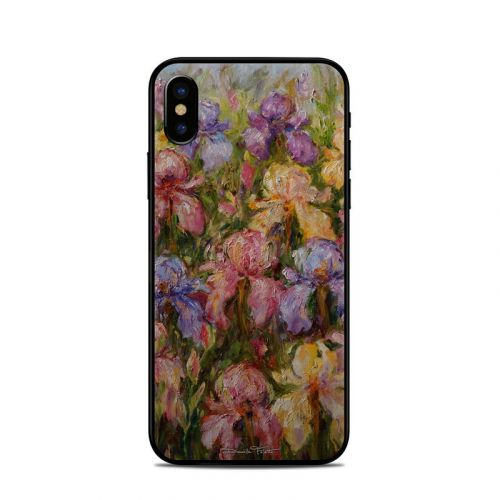 Field Of Irises iPhone X Skin