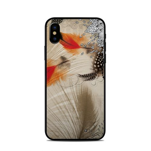 Feather Dance iPhone X Skin