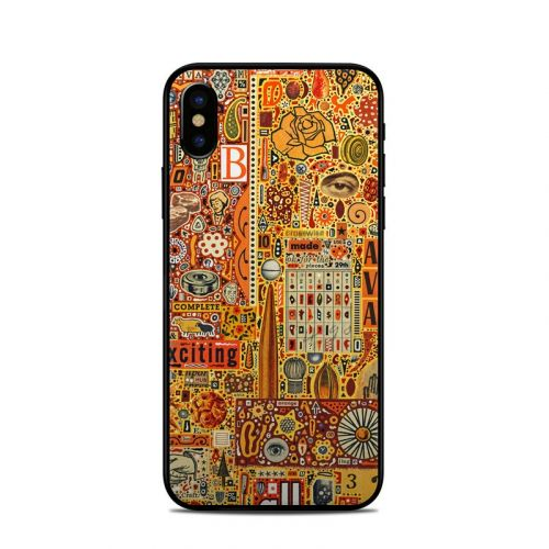 The Golding Time iPhone X Skin