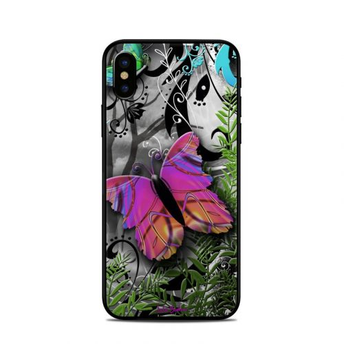 Goth Forest iPhone X Skin