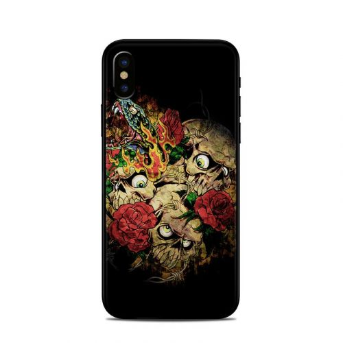 Gothic Tattoo iPhone X Skin