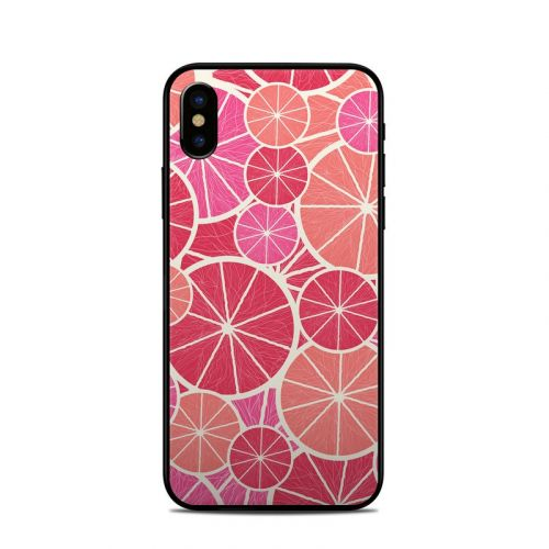 Grapefruit iPhone XS Skin