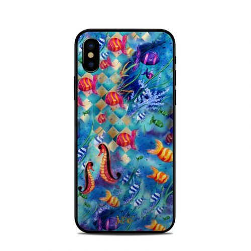 Harlequin Seascape iPhone XS Skin