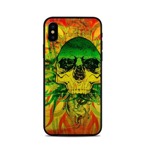 Hot Tribal Skull iPhone X Skin