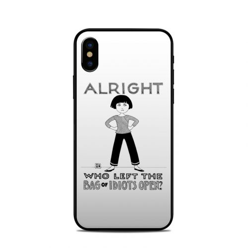 Bag of Idiots iPhone XS Skin