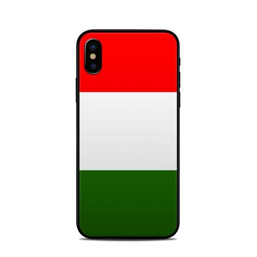 Italian Flag iPhone X Skin