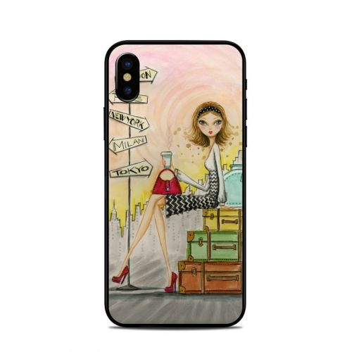 The Jet Setter iPhone X Skin