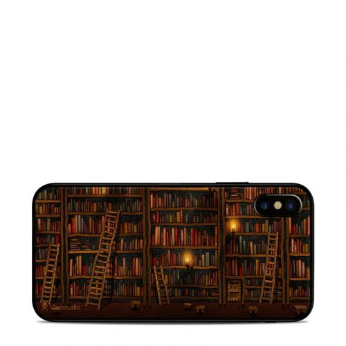 Library iPhone X Skin