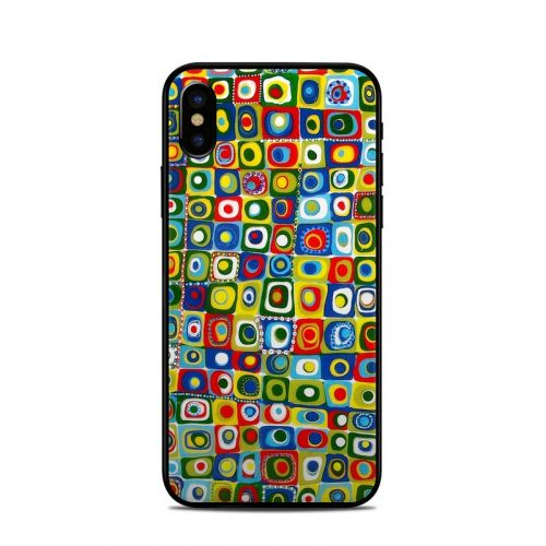 Line Dancing iPhone X Skin