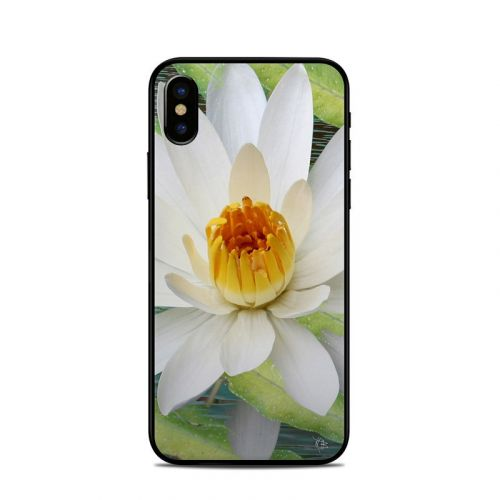 Liquid Bloom iPhone X Skin