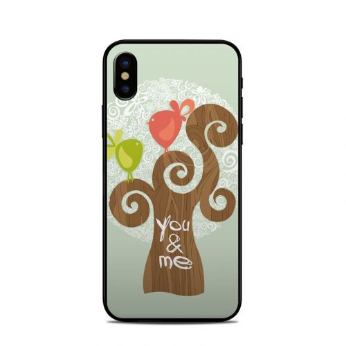 Two Little Birds iPhone X Skin