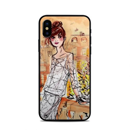 Mimosa Girl iPhone X Skin