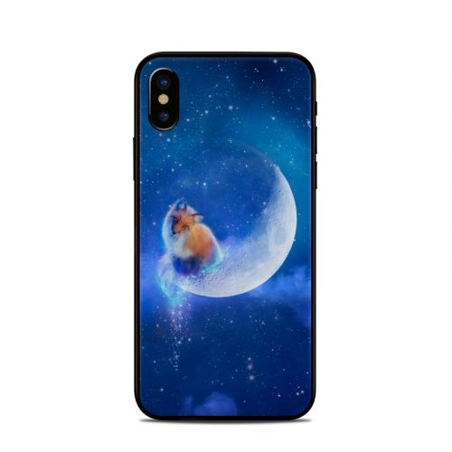 Moon Fox iPhone X Skin