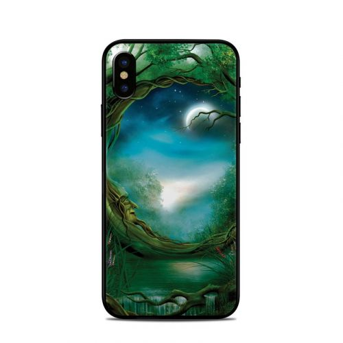 Moon Tree iPhone X Skin