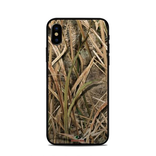 Shadow Grass Blades iPhone XS Skin