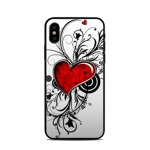 My Heart iPhone X Skin