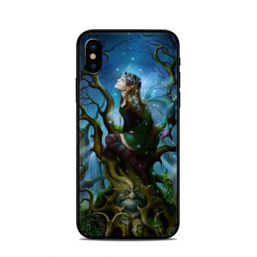 Nightshade Fairy iPhone X Skin