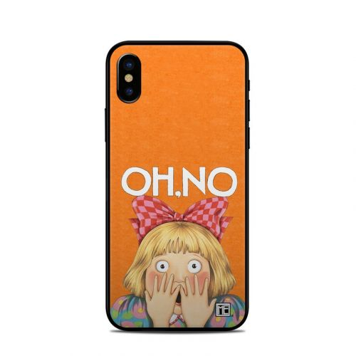 Oh No iPhone XS Skin