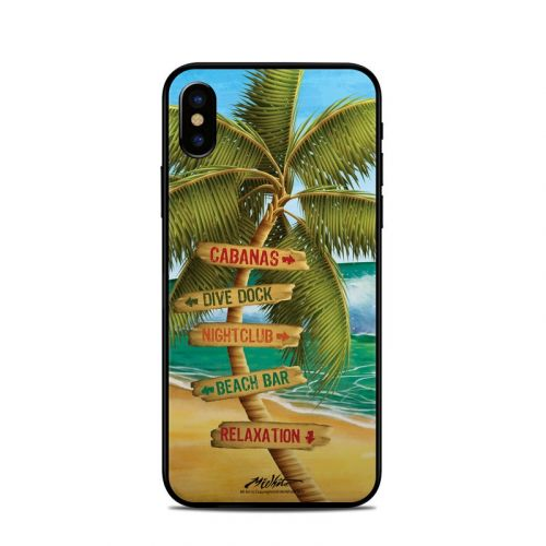 Palm Signs iPhone X Skin