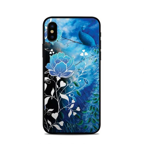 Peacock Sky iPhone X Skin