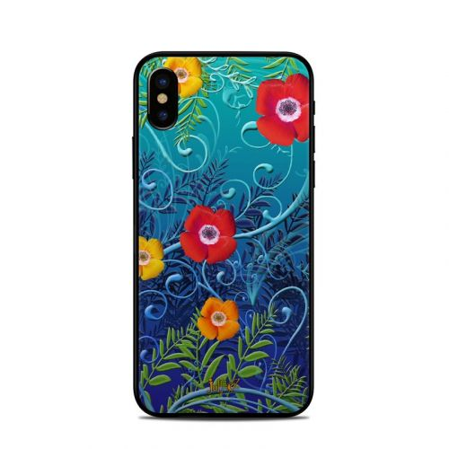 Poppies iPhone X Skin