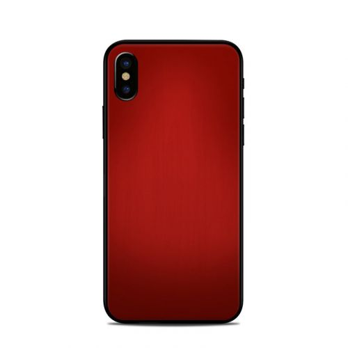 Red Burst iPhone X Skin
