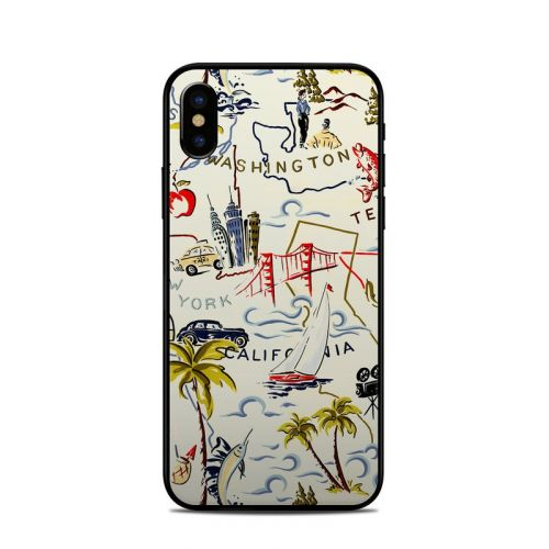 Road Trip iPhone XS Skin