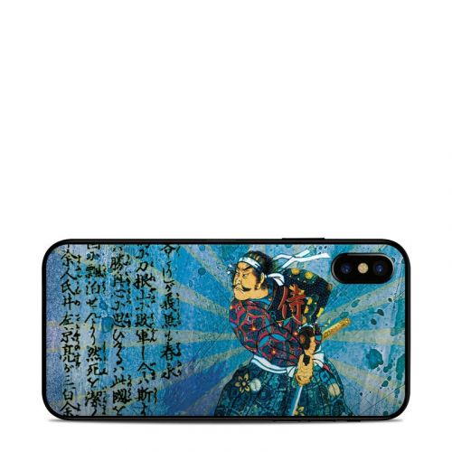 Samurai Honor iPhone X Skin
