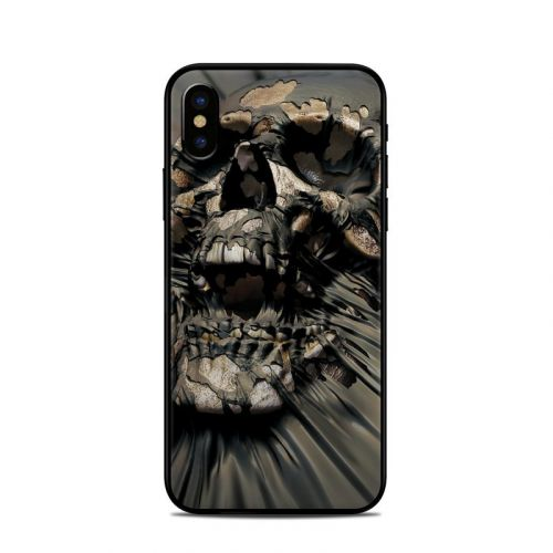 Skull Wrap iPhone XS Skin