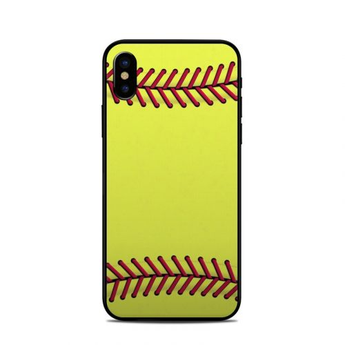 Softball iPhone X Skin