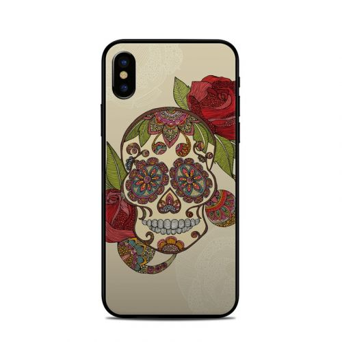 Sugar Skull iPhone XS Skin