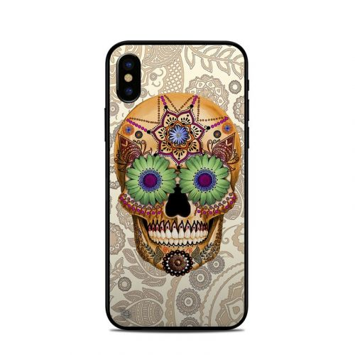 Sugar Skull Bone iPhone X Skin