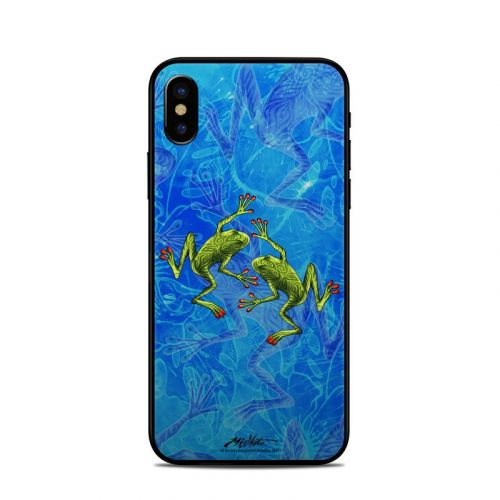 Tiger Frogs iPhone XS Skin