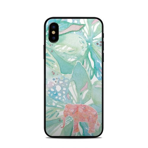 Tropical Elephant iPhone XS Skin